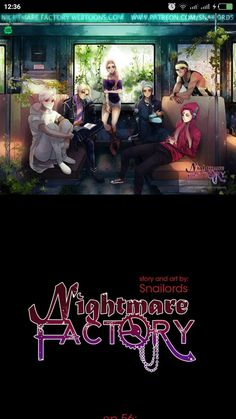 Nightmare factory #webtoon