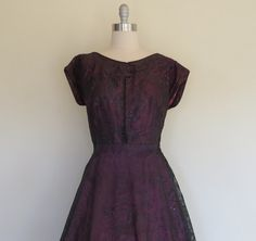 40s  50s party dress size extra-large / by SwanSongVintage1
