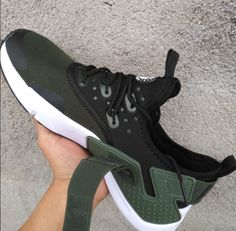 on sale 8b218 65a3f New 2018 NIke Air Huarache Drift PRM Men s Running Sports Shoes Army Green  AH7334 300