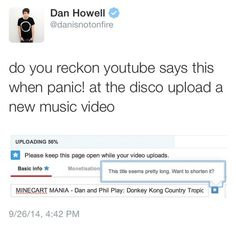 Ha, I bet Panic! has a hack for youtube.