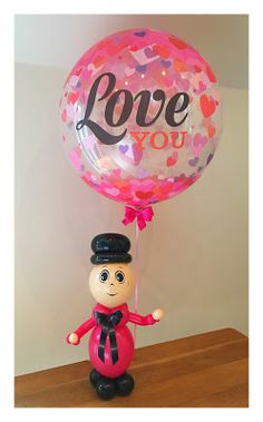 "Sue Bowler CBA - Valentines ""Little Guy"" design"