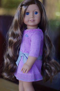 IRRESISTIBLE American Girl Doll Custom TrulyMe 49 + Perfect Kanani Wig OOAK in Dolls & Bears, Dolls, By Brand, Company, Character | eBay