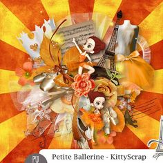 Petite Ballerine by KittyScrap http://digital-crea.fr/shop/index.php?main_page=product_info&cPath=336_343&products_id=20420#.VWgLIc_tmko