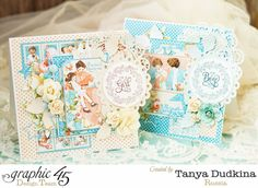 Precious Memories cards by Tanya using G45 and Clearsnap #graphic45