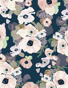 UNE FEMME 8.5 x 11 modern art print on cotton