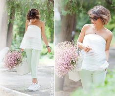 bandeau-top-outfit-with-mint-pants