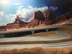 Baubericht – FREAKPALACE Slot Car Racing, Slot Car Tracks, Slot Cars, Race Cars, Courses, Monument Valley, Circuit, Travel, Layout