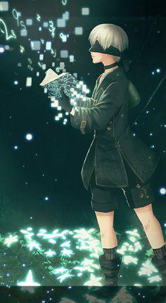 Square Enix Games, Drakengard Nier, Pretty Anime Girl, Dark Photography, Mobile Legends, Neon Genesis Evangelion, Manga Illustration, Boy Art, Yoko
