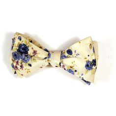Flyte Bow Ties are Handcrafted in Brooklyn, NY in limited quantities. Composed of a fine cotton blend. This bold and whimsical print is offered in multiple deep, rich color-ways. Offered in blue, maro Floral Print Pants, Floral Prints, Bow Accessories, Fashion Accessories, Little Presents, Best Bow, Costume, Silk Ties, Bow Ties
