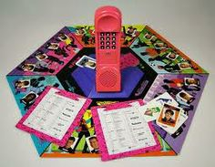 "Omgosh! No I didn't just find this! I remember having this. Some ""guy"" would have a crush on you and you had to ""call"" the different numbers to get clues on who it was!"