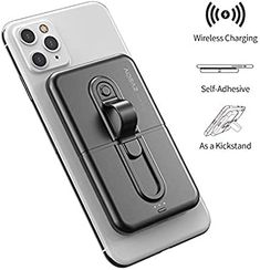 Galaxy S8 S7 S6 Edge Silver Tomorotec Round Cell Phone Ring Stand with Black Car Mount Hook for iPhone 11 X XR XS 8 7 Plus 6S 6 5s 5 SE Diamond Phone Ring