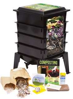 worm composting trays