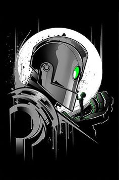 The Iron Giant by inkOne