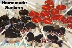 More Suckers! blog.bitsofeverything.com #homemade #suckers