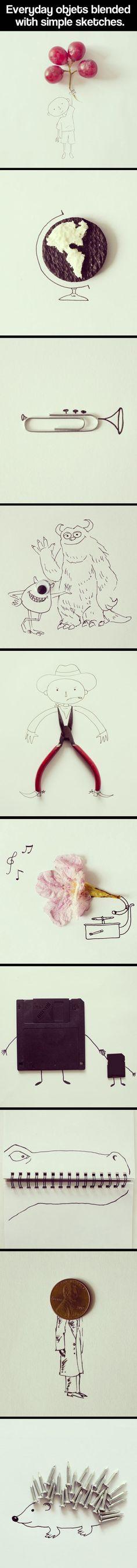 Creative sketches