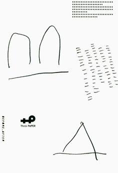 Japanese Poster: Before_After. Think Paper 5. 2011 - Gurafiku: Japanese Graphic Design