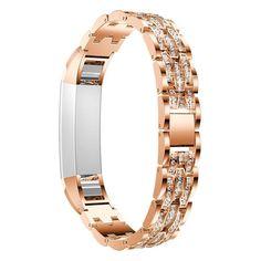 Rhinestone Jewelry Diamond Watchbands Bands Strap Bracelet For Fitbit Alta