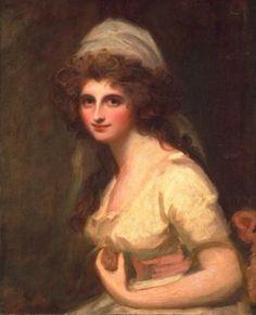 Emma Hart, later Lady Hamilton, ca. 1791 (George Romney) (1724-1802)   The Huntington, San Marino, CA