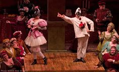 In commedia dell'arte your body has to match the mask and I think this a good example of your body matching the mask.