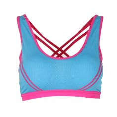 c7ca180dc3 Women Sports Bra Seamless Cross Back Padded Tank Top Athletic Gym Fitness  Stretch Workout -in Sports Bras from Sports   Entertainment on  Aliexpress.com ...