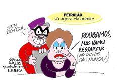 "Dilmá: ""Roubamos a Petrobras, mas vamos ressarcir' | Humor Político"