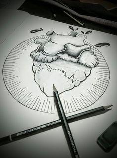 #heart #tattoo #heartbeat