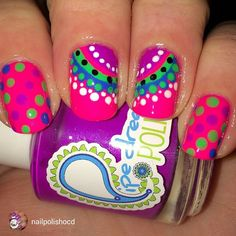 repost via @instarepost20 from @nailpolishocd F is for Fashion! I was inspired by a pedi pic I found on Pinterest (will post that pic later) and decided to translate this to my fingers! I used 4 of my Pipe Dream neon cremes- On The List, High Roller, VIP Pass and All In. I'm really proud of how this turned out! #polishaa #polishobsessedinthe716 #pipedreampolish #neonmani #indies #indiesarethebest #isupportindies #buyalltheindies #instarepost20 www.pipedreampolish.com