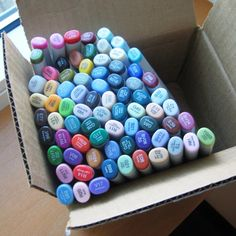 ♥♥♥ my copic markers:)
