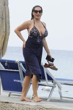 Kelly Brook in Swimsuit in Ischia, Italy 7/14/2016