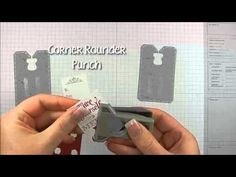 ▶ Making Christmas Tags with Stampin' Up!'s Chalk Talk Framelits - YouTube