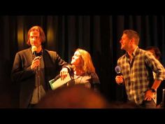 ▶ Jared and Jensen on their tells Supernatural NJCon 2014 - YouTube