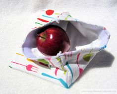 Sammich Bags - eco friendly and funky for your boring brown bag lunches!