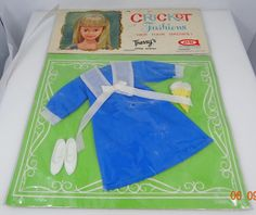1960s American Characted Cricket Fashions Nmip Sweet Treat Outfit Tressy   eBay