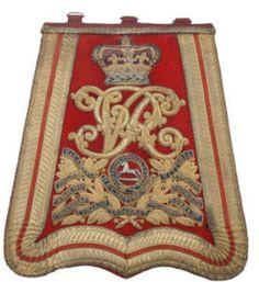 3rd Hussars Sabretache c1891