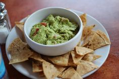 Chips and guac are the perfect snack. Always and forever.