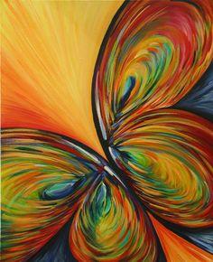 vlinder schilderij - Google zoeken