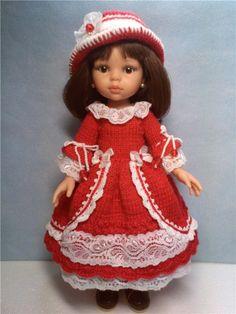 Одежда: платье для кукол Паола Рейна, Джолинок и для других ростиком 32-35 см. / Одежда для кукол / Шопик. Продать купить куклу / Бэйбики. Куклы фото. Одежда для кукол