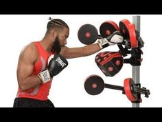 10 Amazing BOXING Machines & Gadgets to help improve your skills Homemade Gym Equipment, Used Gym Equipment, Outdoor Fitness Equipment, Home Workout Equipment, Cardio Workout At Home, Boxing Workout, At Home Workouts, Boxing Boxing, Home Gym Exercises