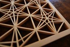 Kasane-rindo Kumiko Japanese lattice