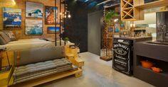 Quem acabou de comprar ou de alugar um apartamento pequeno - desses que não ultrapassam os 35 m² - sabe muito bem que vai precisar de soluções criativas pa...