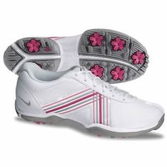 Nike Golf Ladies Delight IV Golf Shoes 2013 - White/Grey