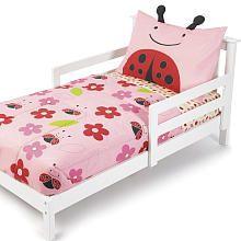 Skip Hop Zoo 4-Piece Toddler Bedding Set- Ladybug