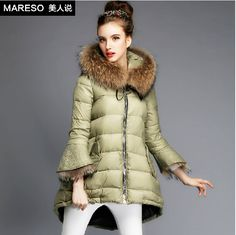 Free Shipping Brand Fashion Korea Parkas Coat Real Fur Hood Warm Winter Jacket Women high brand woman duck down jacket J 0040-in Down & Parkas from Women's Clothing & Accessories on Aliexpress.com | Alibaba Group US $106