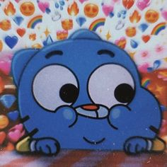 Metadinha Darwin and Gumball -The incredible world of Gumball Bear Wallpaper, Emoji Wallpaper, Cute Disney Wallpaper, Wallpaper Iphone Cute, Cute Cartoon Wallpapers, Cartoon Icons, Cartoon Memes, Cartoon Network Characters, Photographie Indie