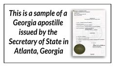 This is a sample of a georgia birth certificate acceptable for this is a sample of a georgia apostille issued by the secretary of state in atlanta yelopaper Gallery