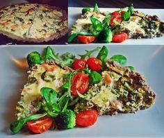 Tarta łososiowa :)  Przepis: http://tasty-and-healthy.blog.pl/2014/03/07/pyszna-i-zdrowa-tarta-lososiowa/