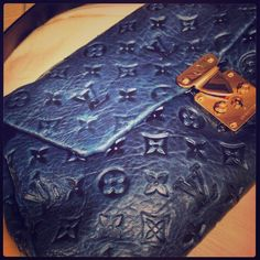 HP Louis Vuitton midnight blue runway bag I've decided to part ways with this baby ❤Every designer item I've posted is authentic - I don't purchase or sell knockoffs! Louis Vuitton Bags