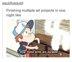 to all the artistic people out there! this is also funny because every now and then, i finish a couple pages in comics i make!