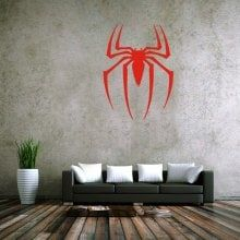 Water Resistant Spider Style Wall Stickers