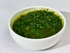 Chile chimichurri is an enlivened, updated version of the classic vinegar-and-parsley sauce. (Photo: Grant Cornett for The New York Times)